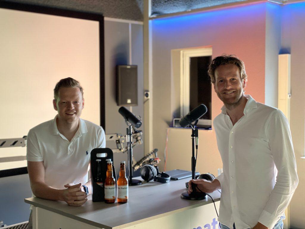 Pieter Versloot van Plate in de SaaS Bazen Podcast