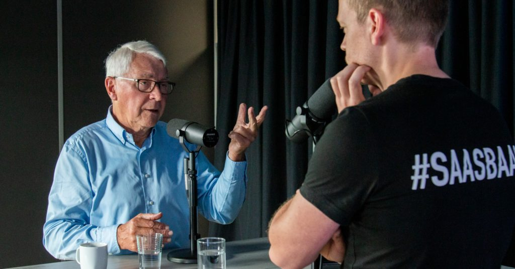 Jan Baan en Johan de Wit in de SaaS Bazen Podcast